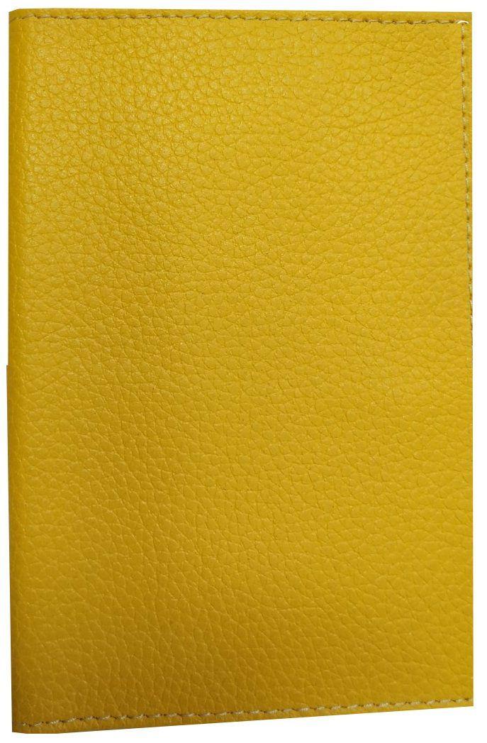 Обложка для паспорта, желтая