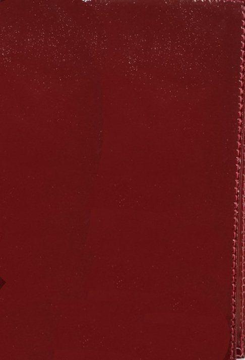Обложка для паспорта, красная