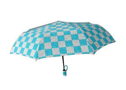 Зонт, полуавтомат, 8 спиц, микс