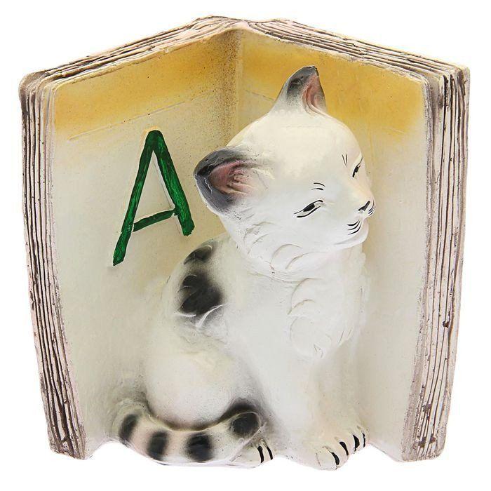 """Подставка для книг """"Котята - А"""", бордо"""