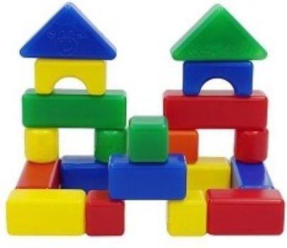 Строительный набор, 20 элементовКонструкторы<br>Строительный набор от ТМ Крошка Я воплотит в жизнь архитектурные фантазии вашего малыша. С его помощью он научится строить дома и мосты, возводить высокие башни и небольшие сооружения.Красочный строительный набор разовьёт у крохи мелкую моторику, коорди...<br><br>Год: 2016<br>Высота: 240<br>Ширина: 240<br>Толщина: 40