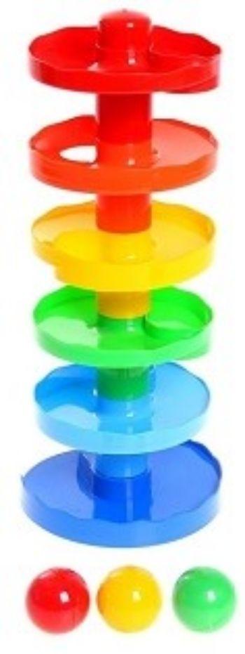 Игра Зайкина горка 1Игры и игрушки<br>Зайкина горка - это увлекательный лабиринт для разноцветных шариков. Веселые шарики катаются по лабиринту горки и развлекают малыша. Шарики яркие и содержат шумные элементы, которые привлекают внимание детей. Игра прекрасно развивает мелкую моторику, ...<br><br>Год: 2017<br>Высота: 400<br>Ширина: 150<br>Толщина: 150