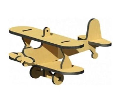 Сборная деревянная модель Биплан