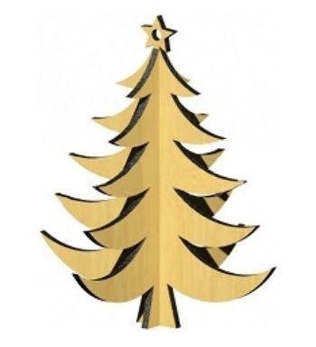 Сборная деревянная модель ЕлкаКонструирование из дерева, из пластика, оригами<br>Деревянные игрушки предназначены для самостоятельной сборки детьми с родителями. Подходит для декупажа акриловыми красками и лаком. Может использоваться как украшение новогодней елочки. Детали собираются с усилием для обеспечения требуемой жесткости и про...<br><br>Год: 2017<br>Высота: 160<br>Ширина: 160<br>Толщина: 3