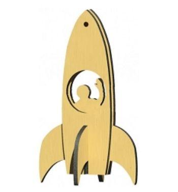 Сборная деревянная модель Ракета