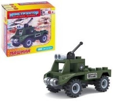 Конструктор Машина военная, 25 деталей