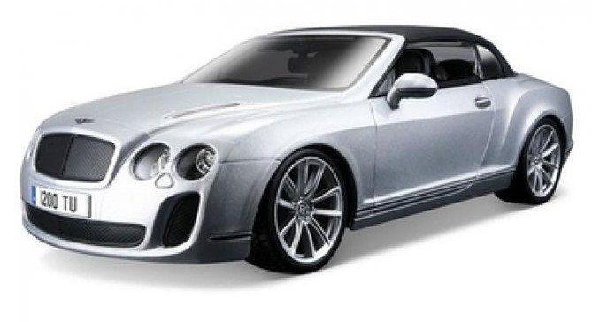 """Коллекционная игровая модель """"Bentley Continental Supersports Convertible ISR"""", микс"""