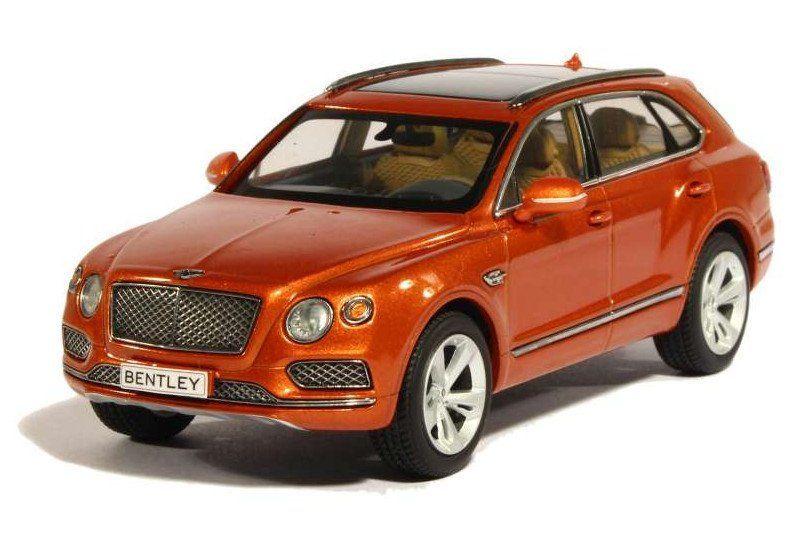 """Коллекционная игровая модель """"Bentley Bentayga"""", микс"""