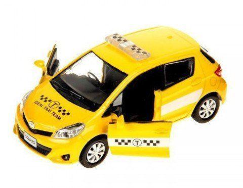 Коллекционная игровая модель Toyota Yaris Russian Taxi, микс