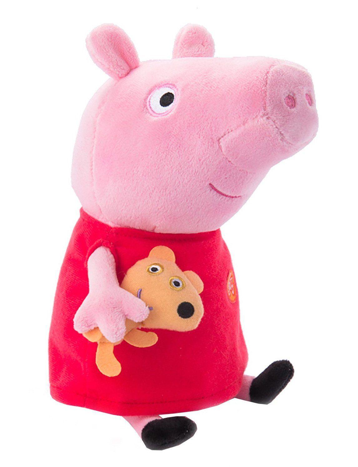"""Игрушка мягкая """"Свинка Пеппа с игрушкой"""", 30 см"""