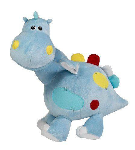 """Игрушка мягкая """"Дракончик Дино"""", малый, голубой, 50 см."""