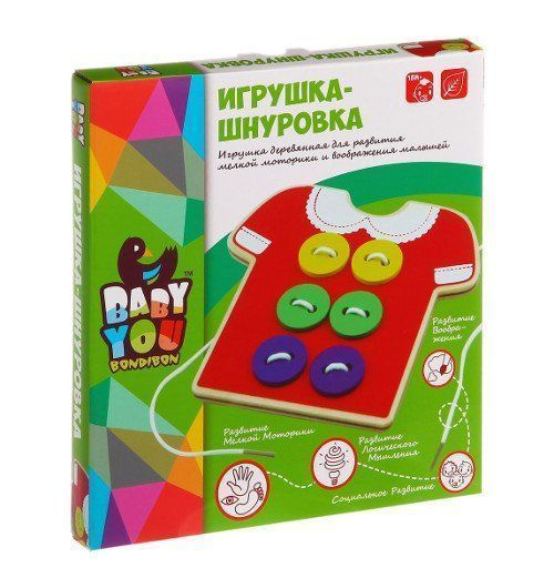 "Игрушка развивающая ""Шнуровка"""