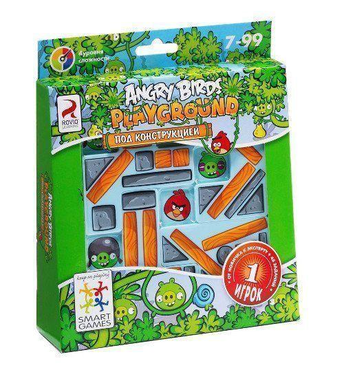 """Игра логическая Angry Birds """"Playground. Под конструкцией"""""""