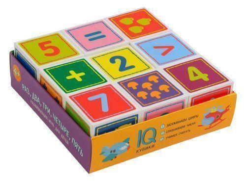 Раз, два, три, четыре, пять. Умные кубики в поддончике