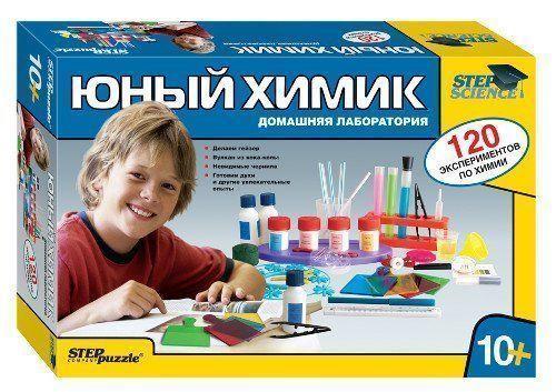 """Купить со скидкой Игровой набор """"Домашняя лаборатория"""". Юный химик"""