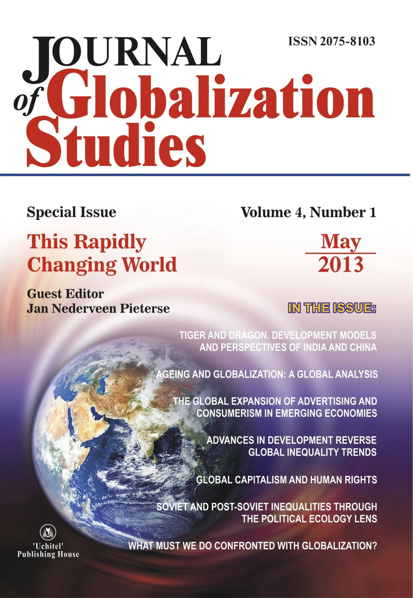 Journal of Globalization Studies Volume 4, Number 1, 2013 г. Журнал глобализационных исследований Международный журнал на английском языке