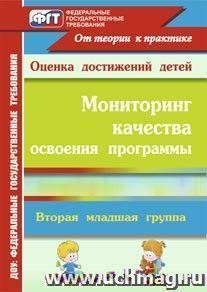 Мониторинг качества освоения основной общеобразовательной программы дошкольного образования. Вторая младшая группа