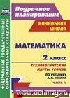 Математика. 2 класс: технологические карты уроков по учебнику А. Л. Чекина. Ч. II