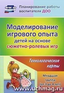 Моделирование игрового опыта детей на основе сюжетно-ролевых игр. Младшая группа (от 3 до 4 лет): технологические карты