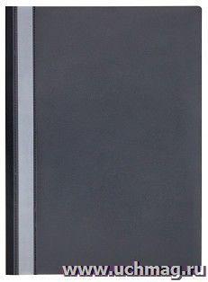 Папка-скоросшиватель черная OfficeSpace, А4