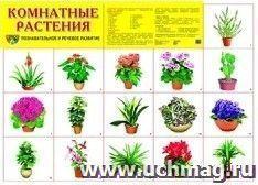 """Плакат """"Комнатные растения"""""""